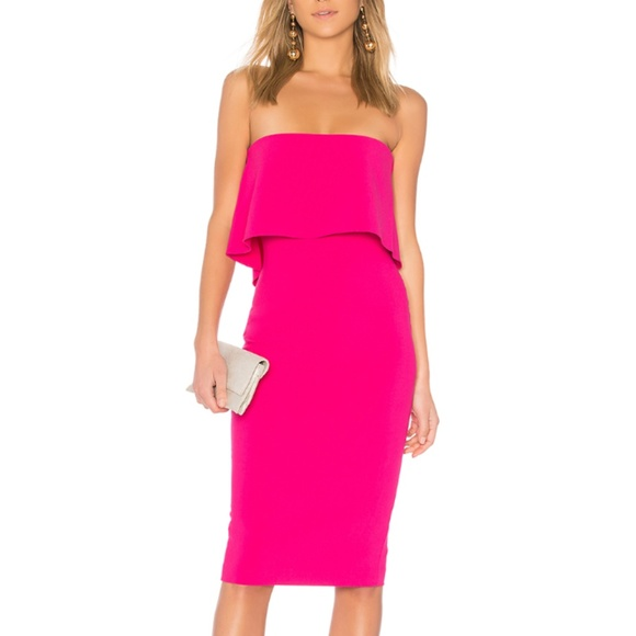 9289e939b78 Likely Dresses   Skirts - Likely Pink Driggs Strapless Dress
